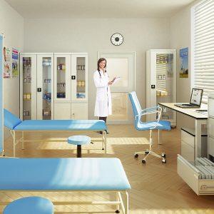 Nemocničné vitríny